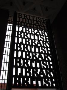 porte en fer de la british library