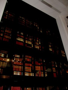 vitrine de livres