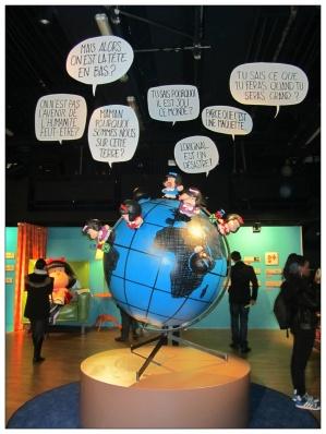 mafalda autour du globe