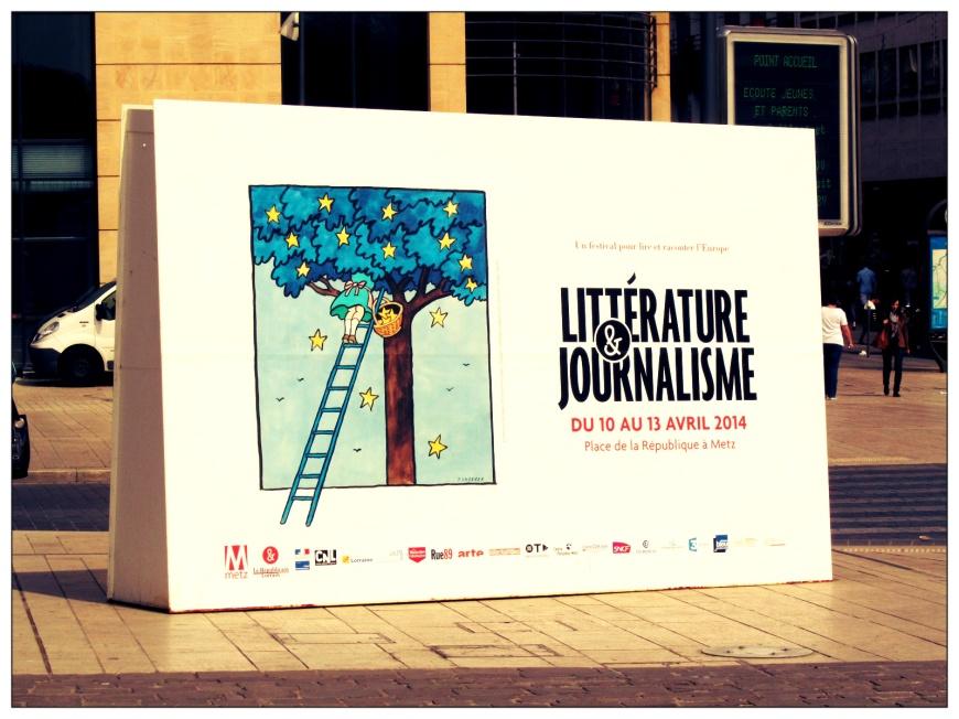 pancarte d'un festival