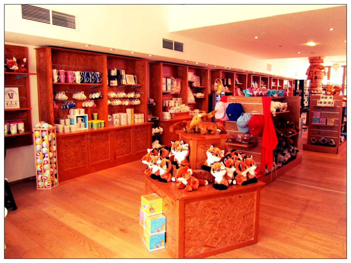 boutique du parc du petit prince